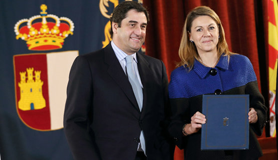 José Ignacio Echániz y María Dolores de Cospedal