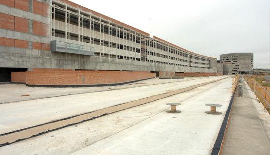 Obras paralizadas del futuro Hospital Universitario de Toledo