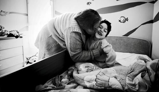 La nueva presidenta, Aurelia Jerez, junto a su hijo Alberto | Foto: Javier de Riaño