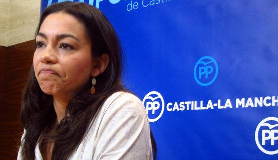 Claudia Alonso, diputada del PP en las Cortes de Castilla-La Mancha | Europa Press