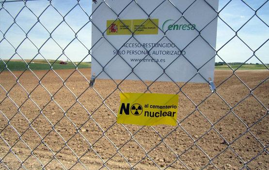 Terrenos destinados a la construcción del basurero nuclear en Villar de Cañas